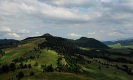 Горы Pieniny стоковое фото rf