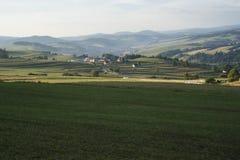 Горы Pieniny Стоковое Изображение RF