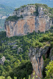Горы Prades Стоковое Изображение RF