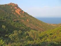 горы provencal стоковые изображения