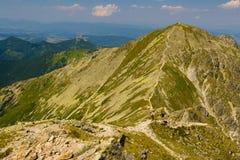 Горы Rohace в Словакии Стоковые Фотографии RF
