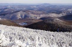 горы s Вермонт стоковое фото rf