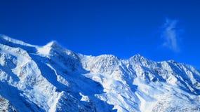Горы Saas-гонорара Стоковые Фото