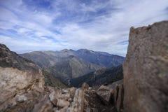Горы San Gabriel стоковые фото