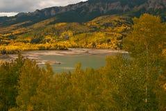 горы san juan падения colorado цвета Стоковые Изображения