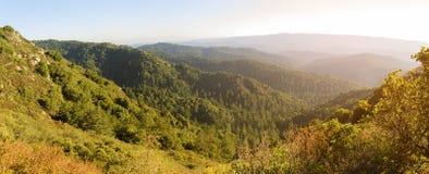 Горы Santa Cruz Стоковое Фото