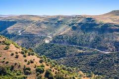 Горы Simien в Эфиопии Стоковые Изображения