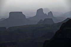 Горы Simien Стоковые Изображения RF