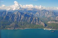 Горы Sivri к западу от Антальи Стоковое Изображение