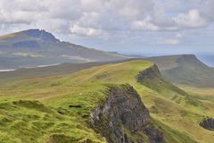 Горы Skye Стоковая Фотография