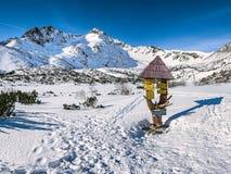 Горы Slovak Стоковое Изображение RF