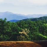 Горы Smokie Стоковые Фотографии RF