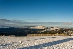 Горы Snowy Стоковые Фото