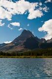 Горы Swiftcurrent Озером, ледником национальным p Стоковые Изображения