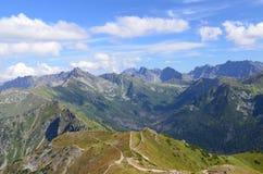 Горы Tatra в августе 2014 стоковые фото