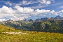 Горы Tatra в августе 2014 стоковое изображение
