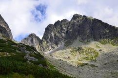 Горы Tatra в августе 2014 стоковые фотографии rf
