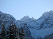 Горы Tatra в Польше и Словакии стоковое фото