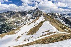 Горы Tatra Стоковое Изображение