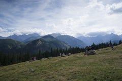 Горы Tatra Стоковые Фотографии RF