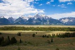 Горы Teton Стоковые Изображения
