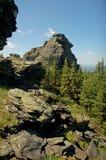 Горы Ural летом стоковые изображения