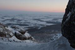 Горы Ural Россия Стоковая Фотография