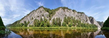 горы ural Стоковая Фотография