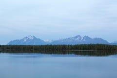 Горы Wasilla стоковое изображение rf