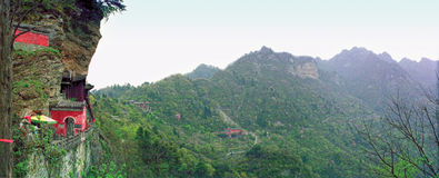 Горы Wudang, Wudangshan стоковые фото
