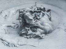Горячая взрывая грязь Стоковые Фотографии RF