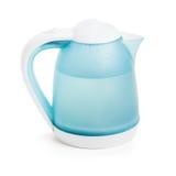 Горячая вода в электрическом чайнике стоковое фото