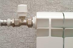 горячая вода радиатора Стоковые Фотографии RF