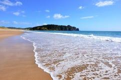 Горячая вода Bech - Новая Зеландия Стоковая Фотография RF