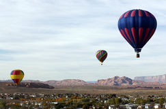 Горячая гонка воздушного шара Стоковые Изображения RF