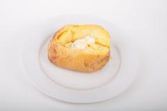 Горячая испеченная картошка золота Юкона Стоковые Изображения RF