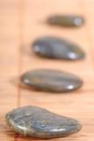 горячая каменная терапия Стоковое Изображение