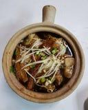 Горячая китайская еда Стоковое Фото