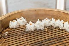 горячая китайская плюшка стоковые фото