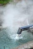 Горячая минеральная вода Стоковая Фотография