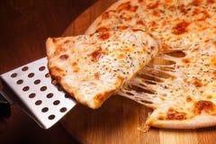 Горячая пицца Стоковая Фотография