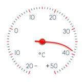 горячая погода символа стоковые изображения