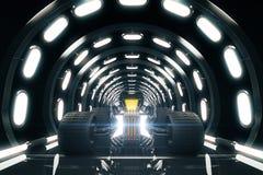 Горячая штанга в тоннеле бесплатная иллюстрация