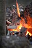 горячая штанга стоковое изображение rf