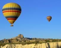 Горячее летание воздушного шара Стоковое Изображение