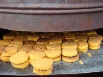 Горячее и свежее naan khatai стоковое фото rf