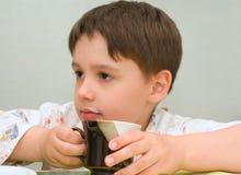 горячее молоко Стоковые Изображения