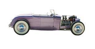 горячее открытое пурпуровое колесо штанги Стоковые Фото