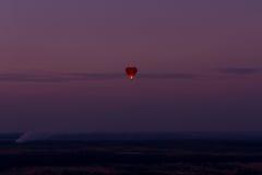 Горячее отключение воздушного шара Стоковое Фото