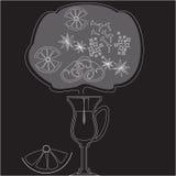 Горячее питье в стекле Стоковые Фото